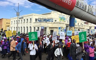 Zimbabwe Churches March For Peace