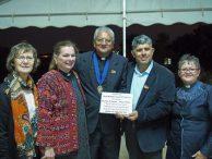 Nassar Family Accepts Peace Award