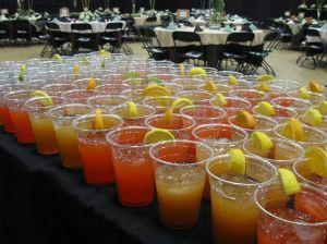Strawberry Lemonade and Peach Tea