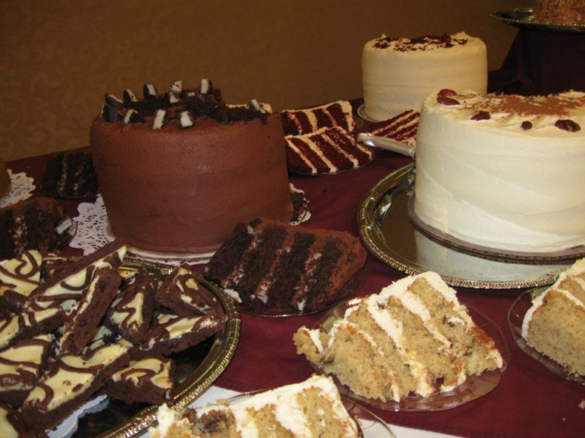 Mounds Cake, Hummingbird Cake, Red Velvet Cake, Italian Cream Cake, Cream Cheese Brownies