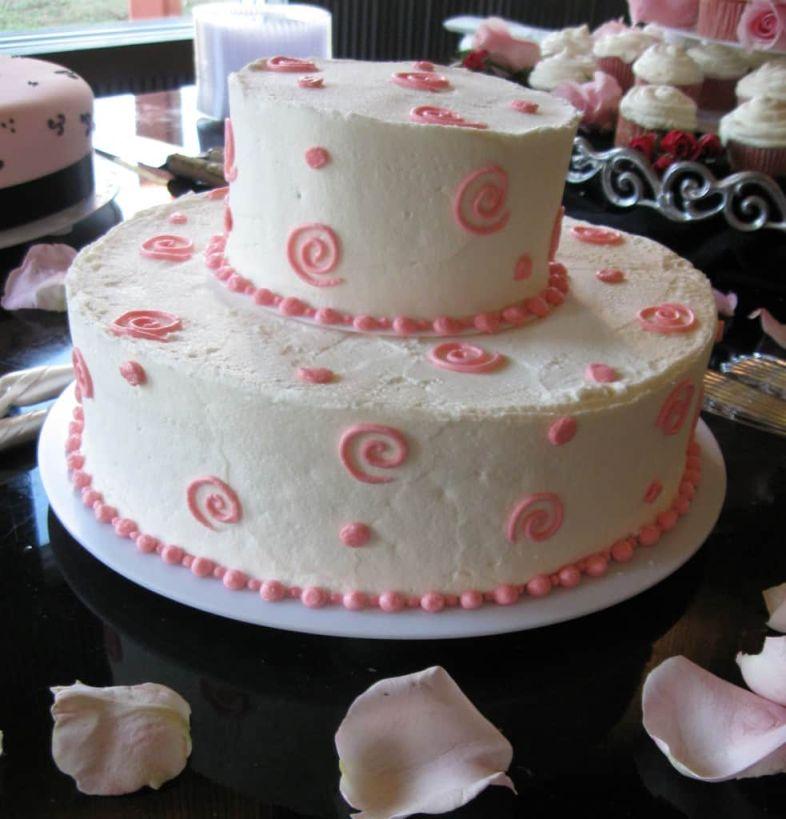 Whimsical Vanilla Bean Buttercream Cake