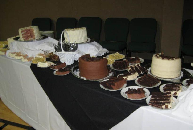 Chocolate Layer Cake, Reeses Peanutbutter Cake, Italian Cream Cake