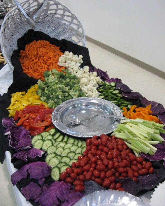 Fresh Vegetables Display