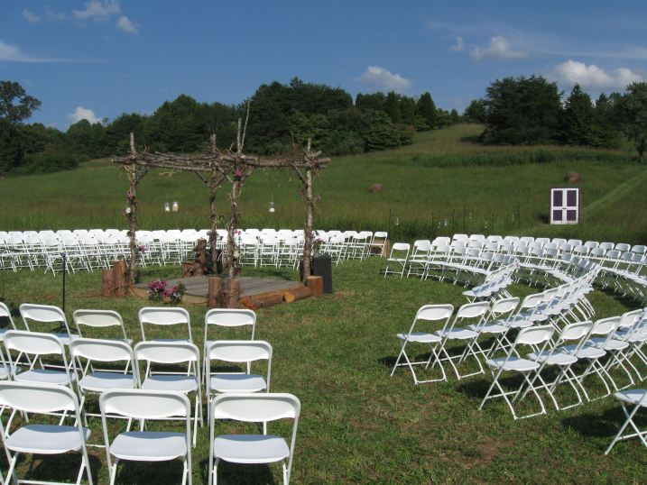 """Circle of Love"" Ceremony Site"