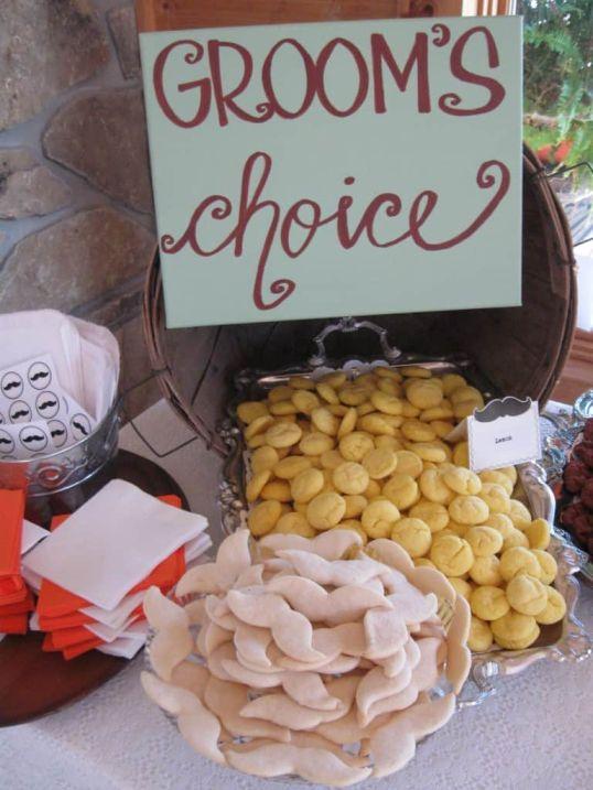"""Grooms Choice """"Lemon Cookies with Milk"""""""