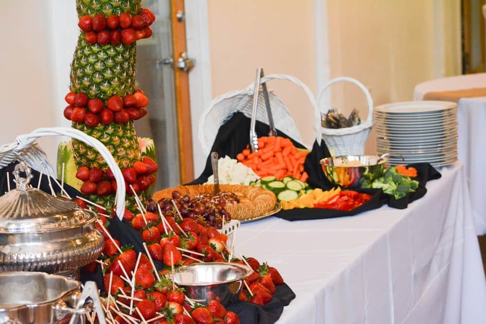 Fresh Fruit Fondue Knoxville, TN Venue Catering