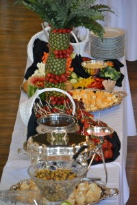 Gourmet Hor d oeuvre reception Knoxville, TN Catering