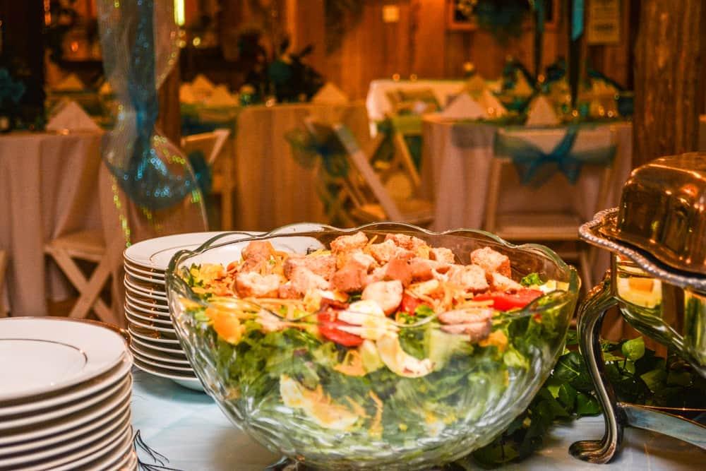 Gourmet Tossed Salad Honeysuckle Hills Venue Catering