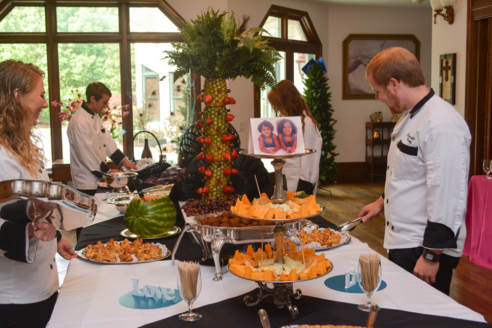 Knoxville, TN Residence Catering Buffet