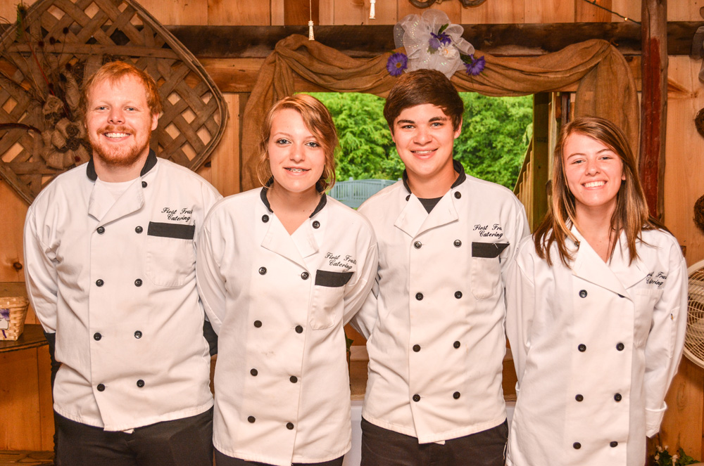 First Fruits Catering Professional Serving Staff