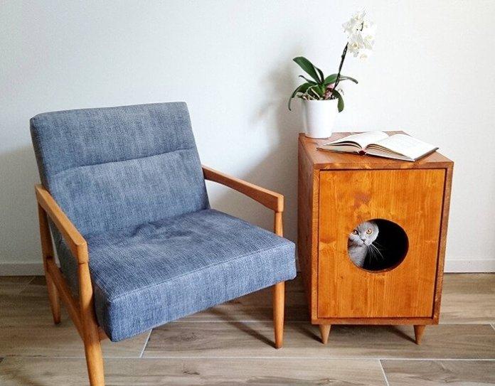 Multifunctional cat house ideas