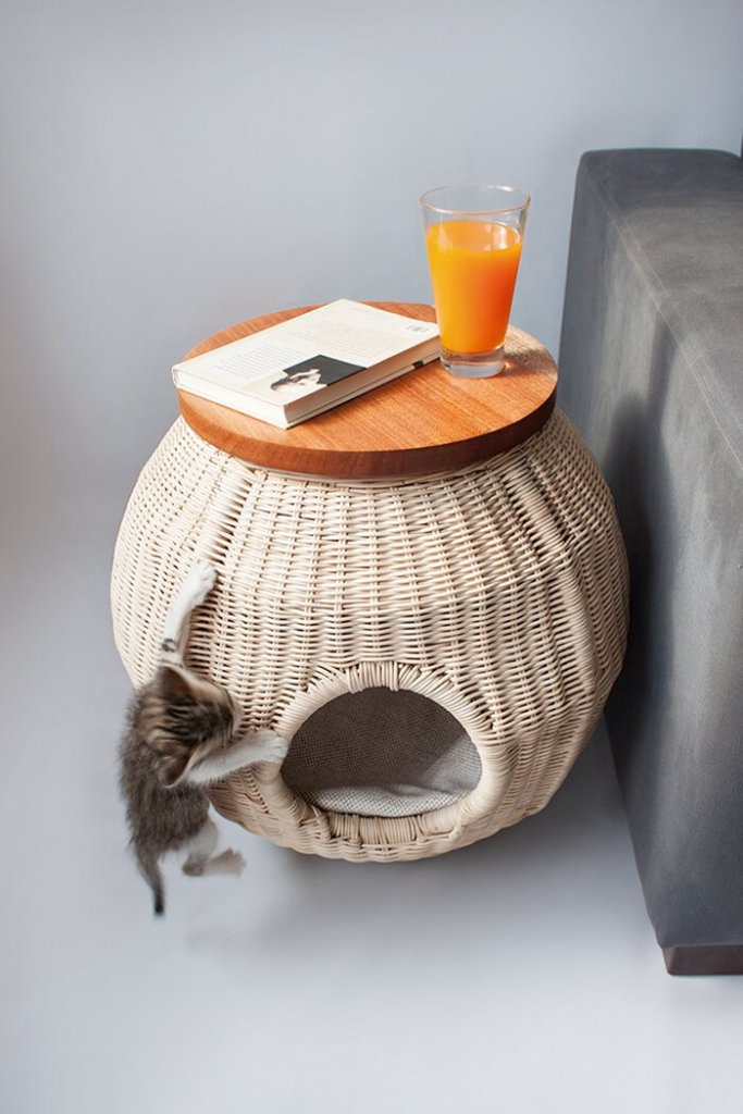 Multifunctional cat houses ideas
