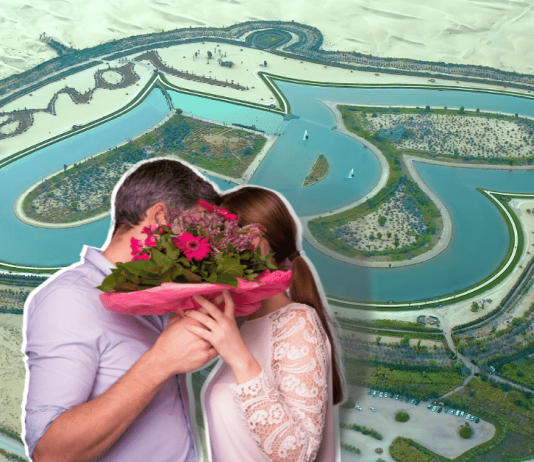 Forget The Eiffel Tower And The Taj Mahal! Here's The Modern Symbol Of Love, Dubai Love' Lake