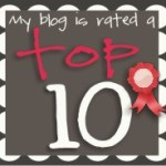 My Top Ten and a Thank you or two!