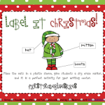 Label It Christmas! and a freebie!