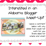 AL Bloggy Meet Up??