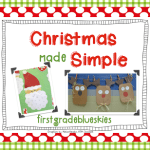 Easy Holiday Craft Pack & Giveaway! Simple Reindeer Glyph