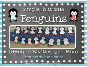 Simple, but Cute Penguins & a Freebie! Plus Flash Giveaway!