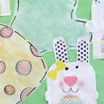 Simple Bunny and Tie Dye Carrot Freebie