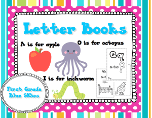 New Letter Books Freebie and Giveaway