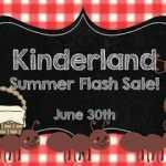 KinderLand Sale!