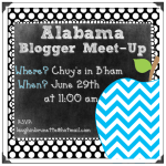 Alabama Blogger Meet Up This Weekend!