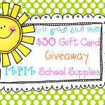 $50 MPM School Supplies Giftcard Giveaway!
