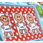 Hot and Fresh Sight Word Cookies {and a Freebie}