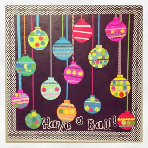 Easy Ornament Bulletin Board Freebie and Blend Friends Update!