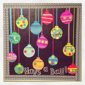 Easy Ornament Bulletin Board Freebie and Blend Friends Update!