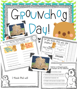 Groundhog Day {FREEBIE} and a little of my week