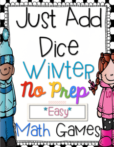 Just Add Dice Winter Edition {FREEBIE}