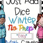 Just Add Dice Winter Edition {FREEBIE}