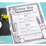 Hoppin' Bunny Measuring FREEBIE