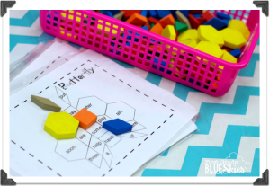 Pattern Block Sight Words {Giveaway}