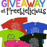 {Awesome} Custom T-Shirt Mega GIVEAWAY from Freebielicious