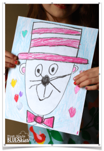 Directed Drawing Tutorial for Reading Celebration Week {FREEBIE}