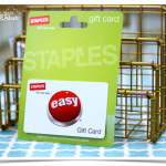 Staples Teacher Appreciation $50 Gift Card Giveaway