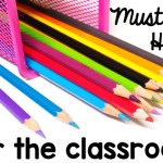 Teacher Must Haves {$50 Staples Giveaway}