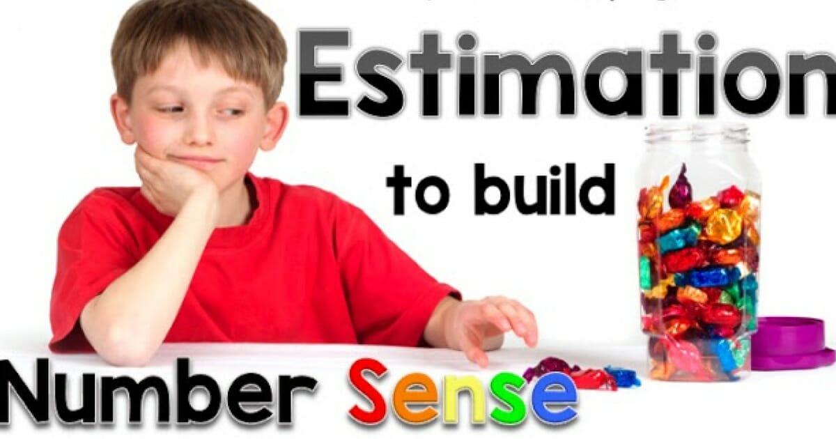 Estimation Making Sense Of Math Linky Week 5 First Grade Blue Skies