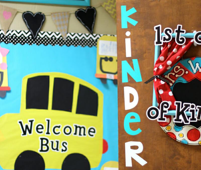 Classroom Ideas Using Cricut ~ Cricut classroom projects first grade blue skies