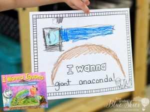 I Wanna Iguana Activities