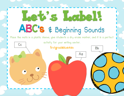 ABC Labeling station activity