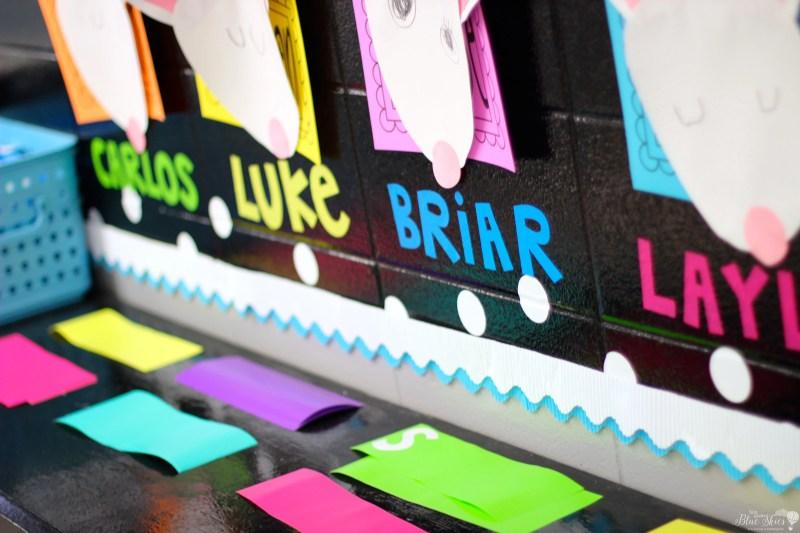 Vinyl Cricut Letters Classroom