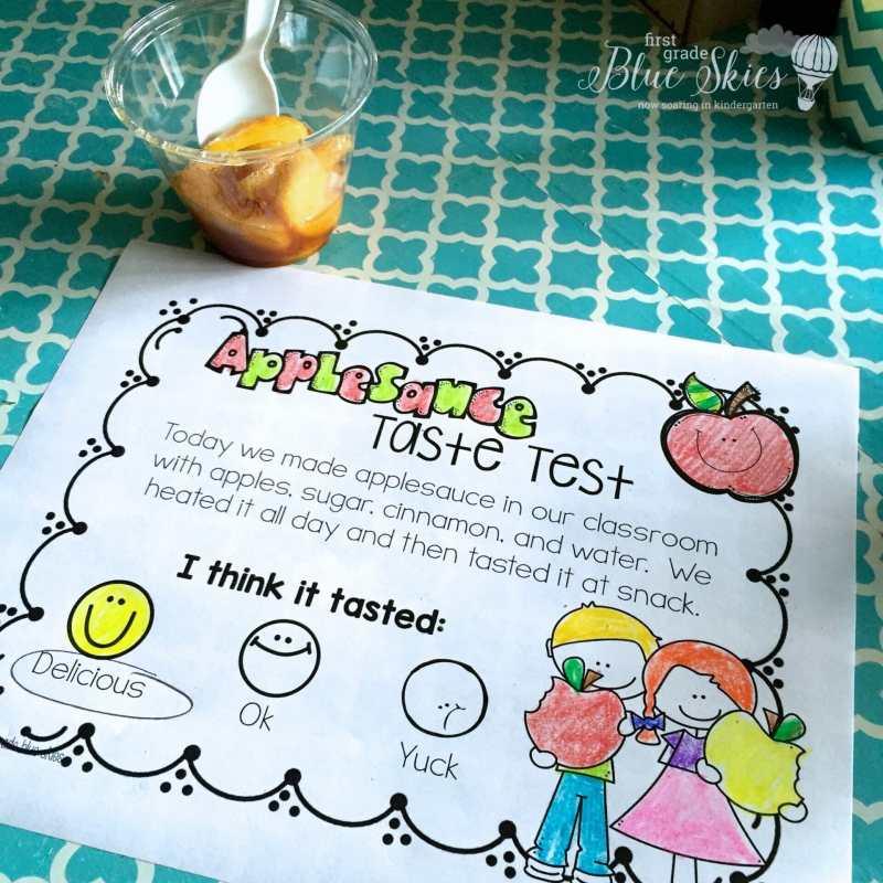 applesauce printable classroom