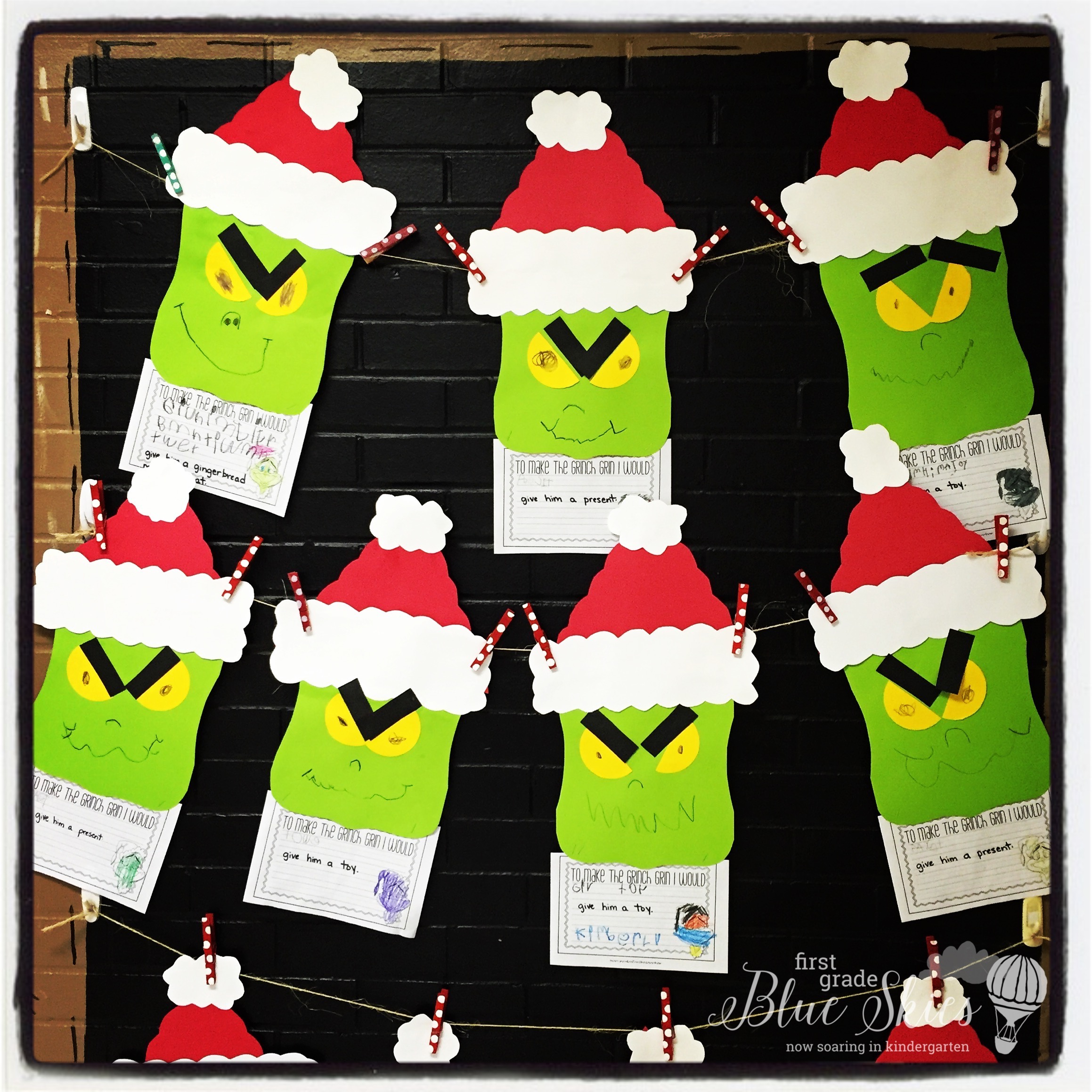 The Creative Colorful Classroom Grinch Day Plans!
