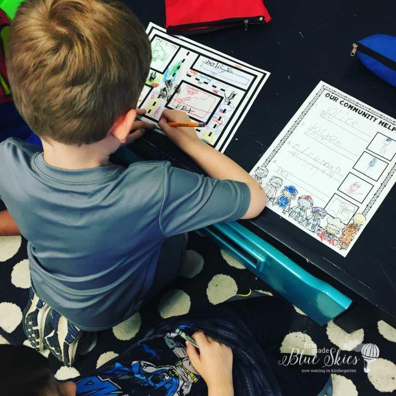 community helper kindergarten
