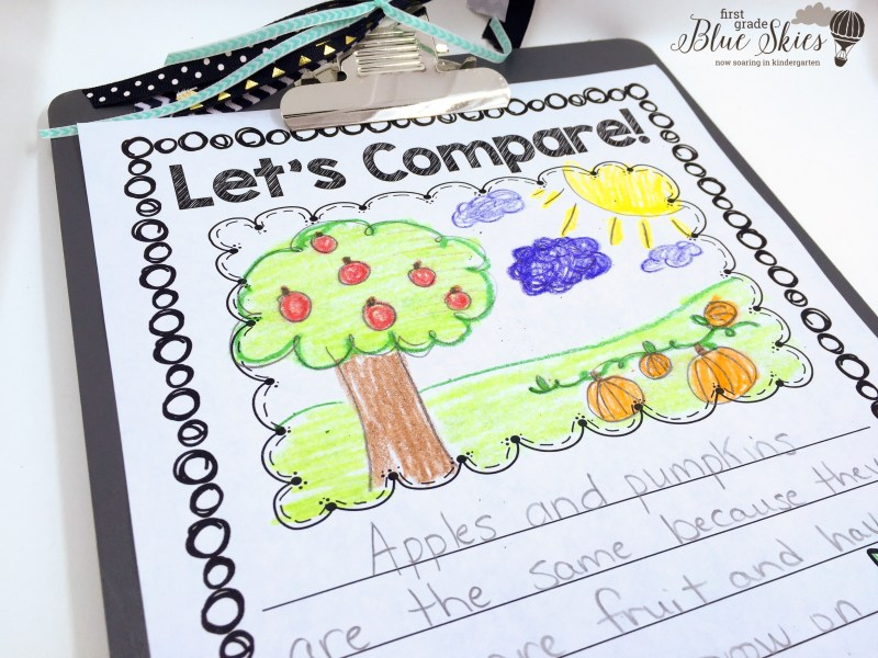 first grade expository writing