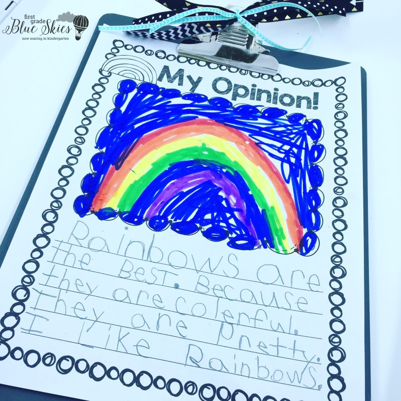 2nd Grade Opinion Piece Writing Lesson Plan with Free Downloadable Worksheet