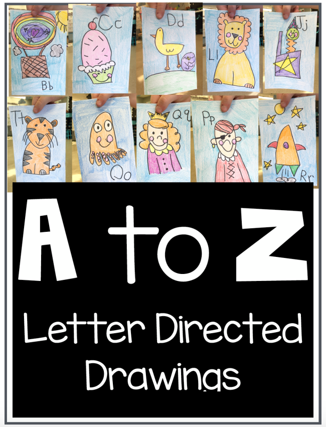 a-to-z-directed-drawing